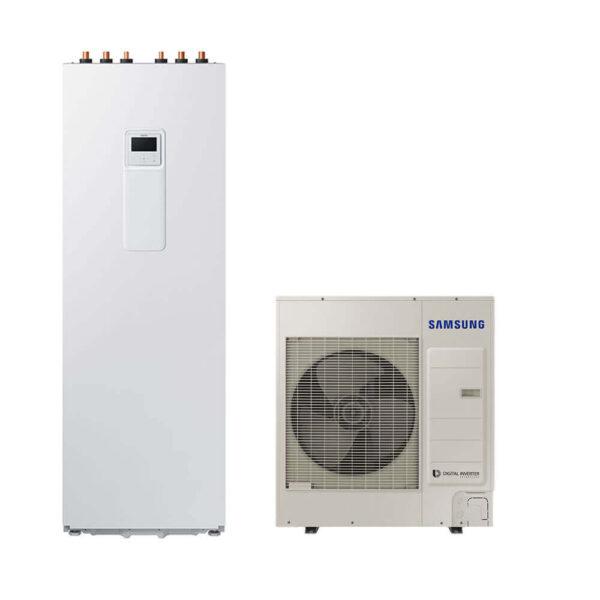 SAMSUNG ClimateHub 4kW-9kW šilumos siurblys oras – vanduo su integruotu boileriu