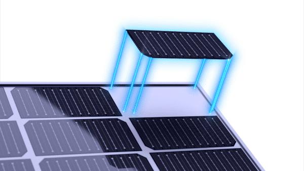 JA Solar Deep Blue celes