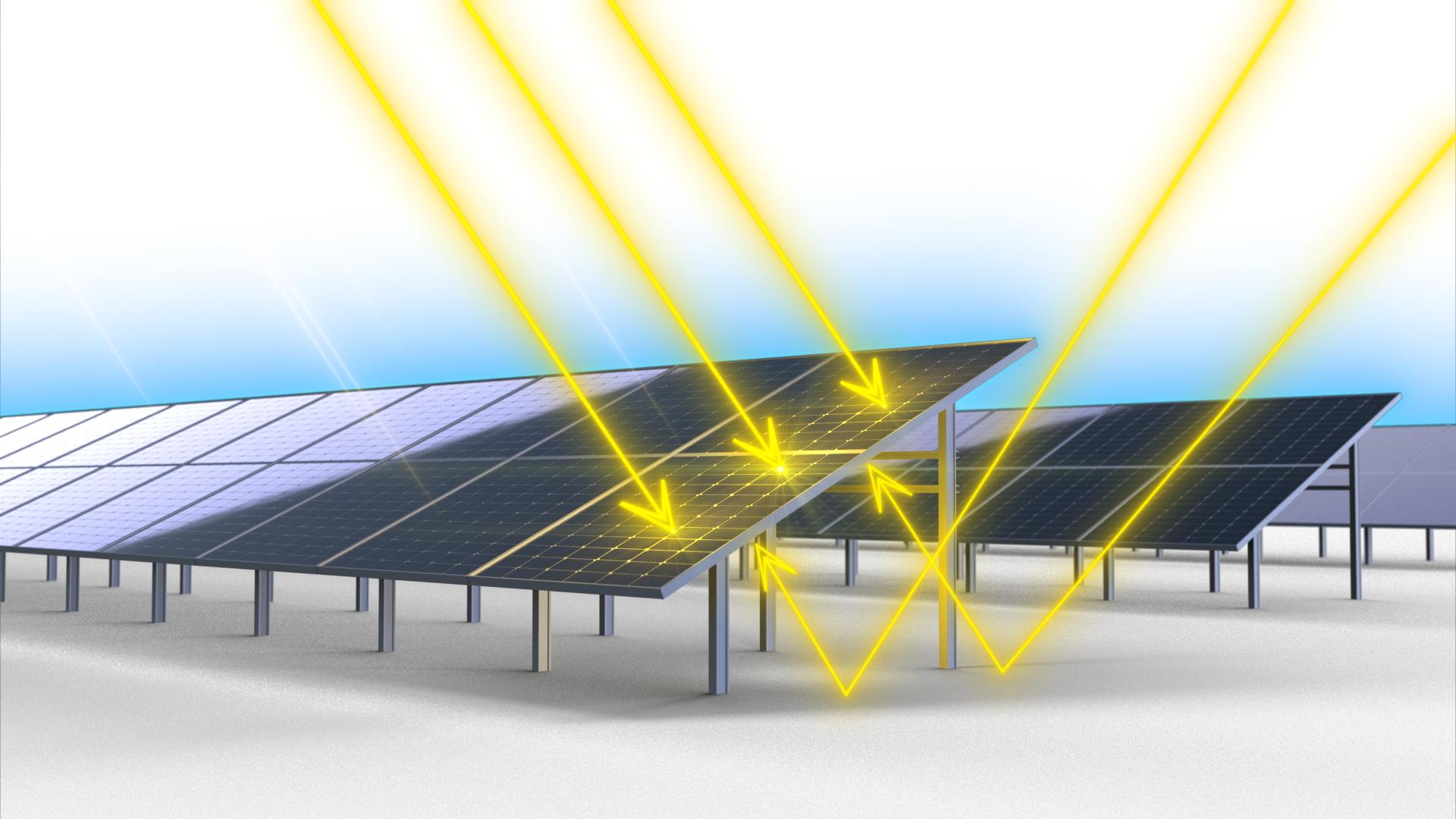 JA Solar Deep Blue 3.0 535W saules moduliai daugiau energijos