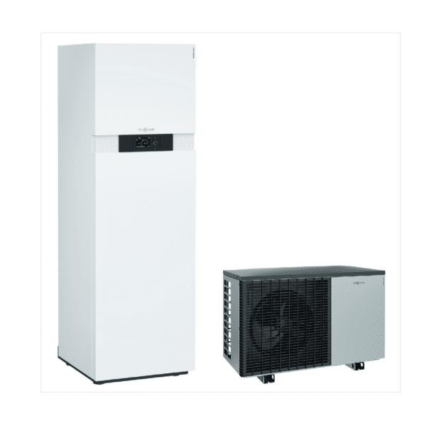 Viessmann VITOCAL 222-S 6kW-16kW šilumos siurblys oras - vanduo su integruotu boileriu namams