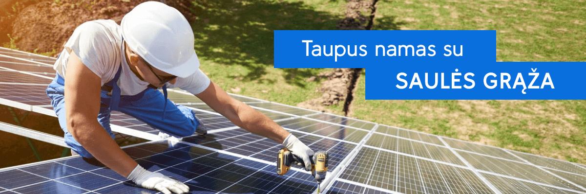 saules-elektrines-oro-kondicionieriai-silumos-siurbliai-įranga